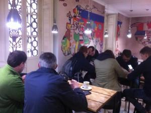 Visita Alumnos Belgas