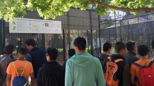 Visita de estudios de FPB a Viveros