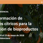 Curso de transformación de residuos cítricos para la obtención de bioproductos