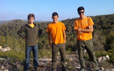 Alumnos de Malvesía realizan un voluntariado ambiental