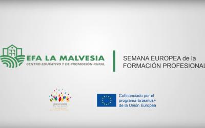 La EFA La Malvesía acoge la Semana Europea de  la Formación Profesional
