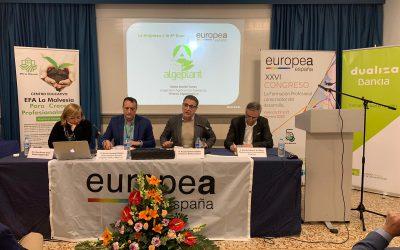 Arranca en la EFA La Malvesía el Congreso Europea España más multitudinario de su historia
