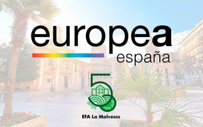 La EFA La Malvesía organiza el Congreso Europea España en València