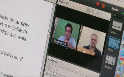 La EFA La Malvesía impartirá la formación académica desde casa tras la suspensión de las clases por el Coronavirus