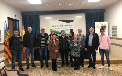 Primera reunión del proyecto UPT2S en la EFA La Malvesía