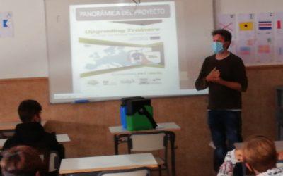 Presentación del proyecto Erasmus+ UPT2S en la EFA La Malvesía