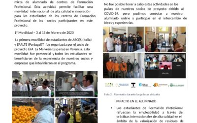 Así ha sido el proyecto europeo Erasmus+ CitriVET: Newsletter Mayo 2021