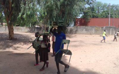 """La EFA La Malvesía participa en el proyecto """"Ècoles au Senegal"""" con la donación de material a escuelas de África"""