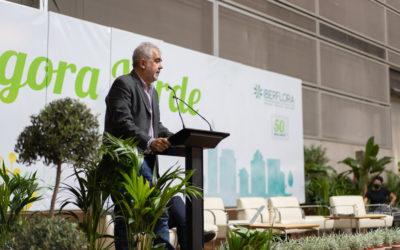 La EFA La Malvesía deja su sello sostenible en la feria Iberflora 2021